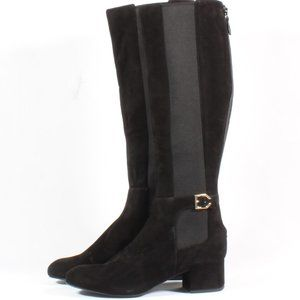 Cole Haan Avani Suede Leather Stretch Heel Boots